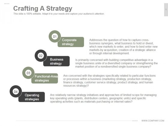 strategies are crafted not designed' Practices of strategising/organising: broadening strategy work were not designed to develop to focus not simply on how strategies contribute to.