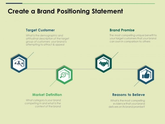 Create A Brand Positioning Statement Ppt PowerPoint Presentation Outline Objects