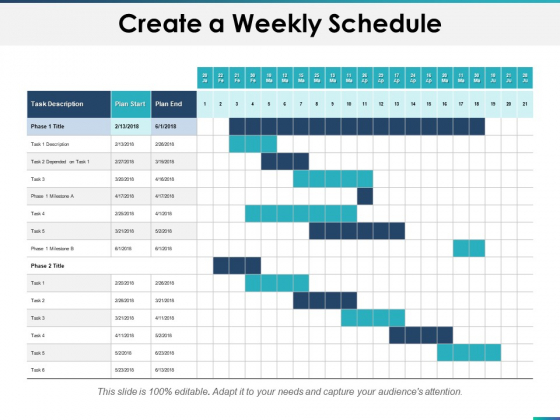 Create_A_Weekly_Schedule_Ppt_PowerPoint_Presentation_Layouts_Slide_Download_Slide_1