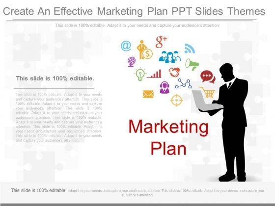 Create An Effective Marketing Plan Ppt Slides Themes