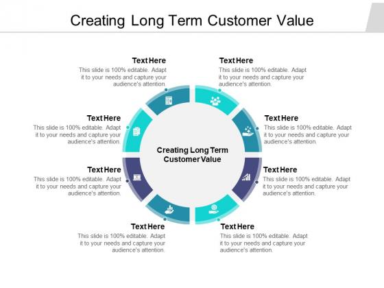 Creating Long Term Customer Value Ppt PowerPoint Presentation Summary Maker Cpb Pdf
