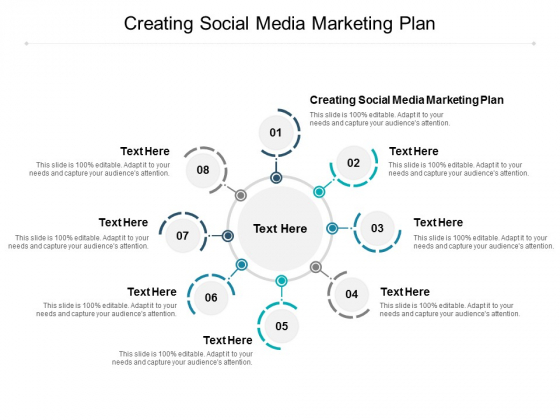 Creating Social Media Marketing Plan Ppt PowerPoint Presentation Ideas Diagrams Cpb