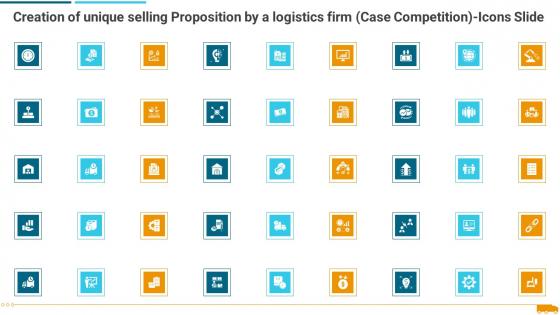 Creation Of Unique Selling Proposition By A Logistics Firm Case Competition Icons Slide Portrait PDF