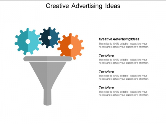 Creative Advertising Ideas Ppt PowerPoint Presentation File Samples Cpb