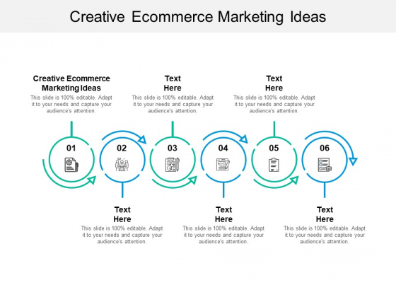 Creative Ecommerce Marketing Ideas Ppt PowerPoint Presentation Slides Rules Cpb