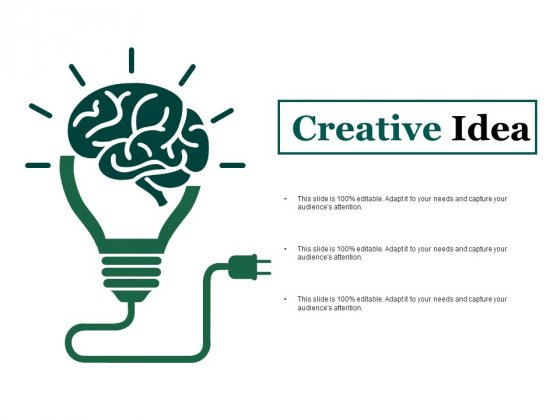 Creative Idea Ppt PowerPoint Presentation Portfolio Templates