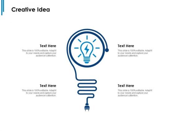 Creative Idea Ppt PowerPoint Presentation Slides Show