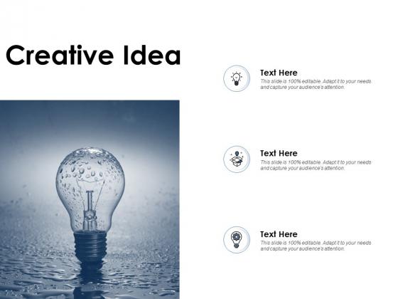 Creative Idea Technology Ppt PowerPoint Presentation Inspiration Brochure