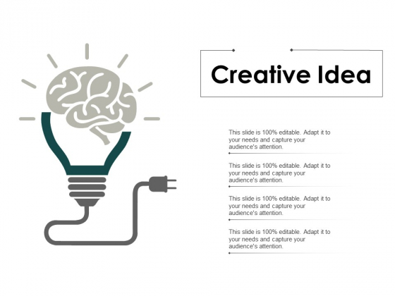 Creative Idea Technology Ppt PowerPoint Presentation Summary Outline