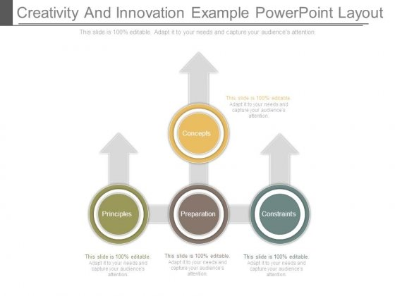 Creativity And Innovation Example Powerpoint Layout