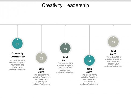 Creativity Leadership Ppt PowerPoint Presentation Ideas Example Cpb