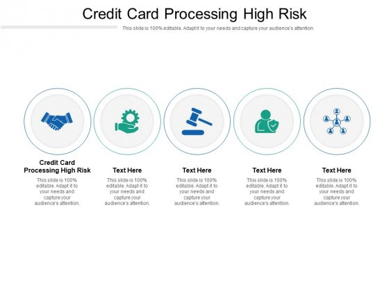 Credit Card Processing High Risk Ppt PowerPoint Presentation Professional Layout Cpb Pdf