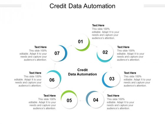 Credit Data Automation Ppt PowerPoint Presentation Layouts Portrait Cpb Pdf