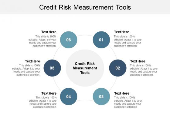 Credit Risk Measurement Tools Ppt PowerPoint Presentation Outline Model