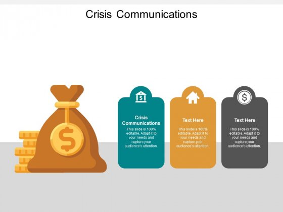 Crisis Communications Ppt PowerPoint Presentation Icon Graphics Template Cpb