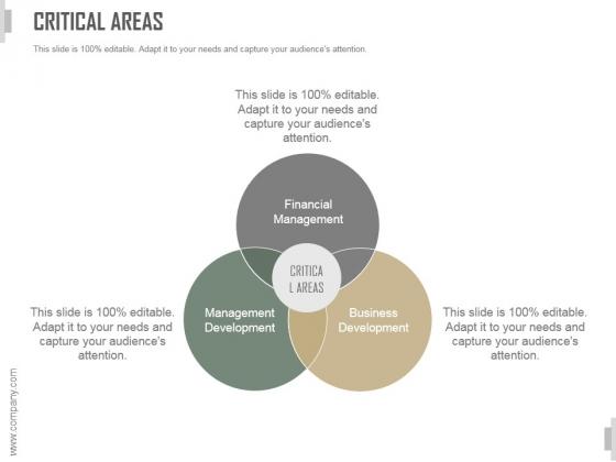 Critical Areas Ppt PowerPoint Presentation Ideas