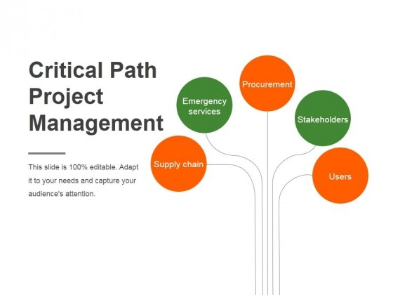 Critical Path Project Management Ppt PowerPoint Presentation Rules