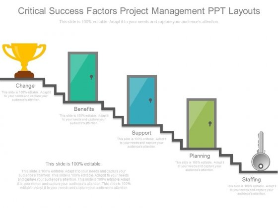 Critical Success Factors Project Management Ppt Layouts