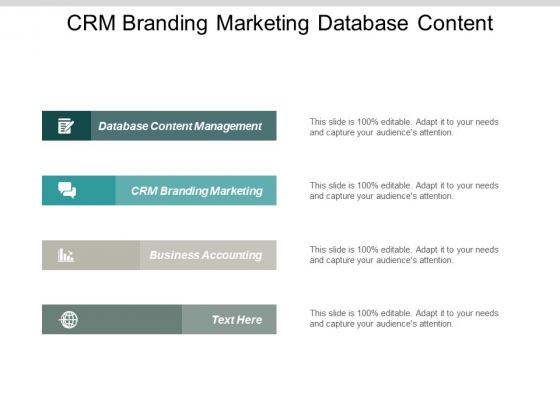 Crm Branding Marketing Database Content Management Business Accounting Ppt PowerPoint Presentation Portfolio Tips
