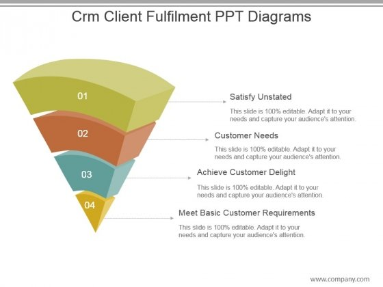 Crm Client Fulfilment Ppt Diagrams