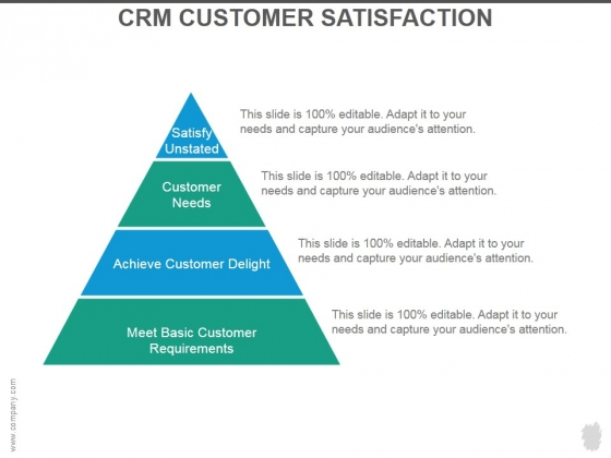 Crm Customer Satisfaction Ppt PowerPoint Presentation Show