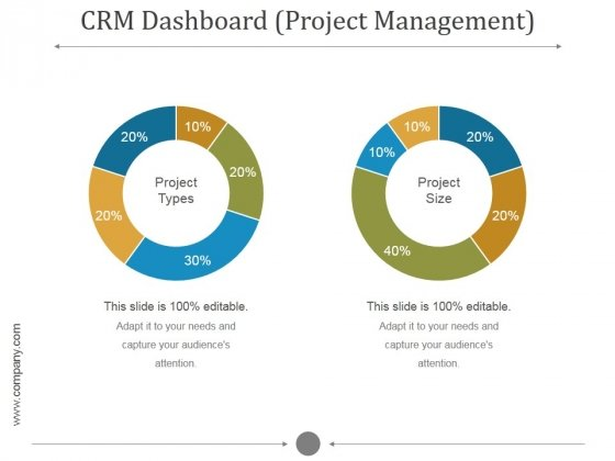 Crm Dashboard Project Management Ppt PowerPoint Presentation Infographic Template