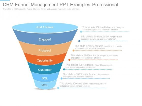 Crm Funnel Management Ppt Examples Professional