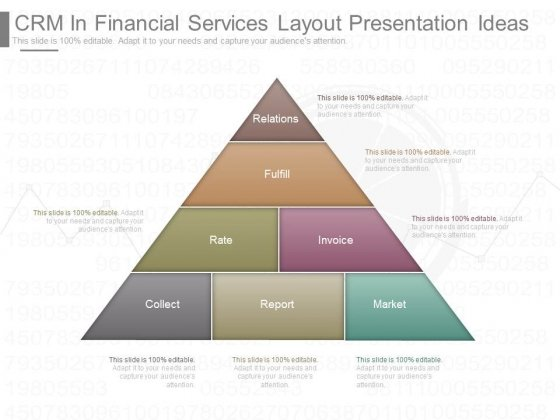 Crm In Financial Services Layout Presentation Ideas