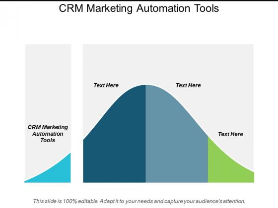 Crm Marketing Automation Tools Ppt Powerpoint Presentation Portfolio Example Topics Cpb