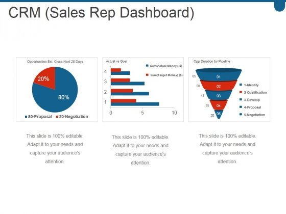 Crm Sales Rep Dashboard Ppt PowerPoint Presentation Clipart