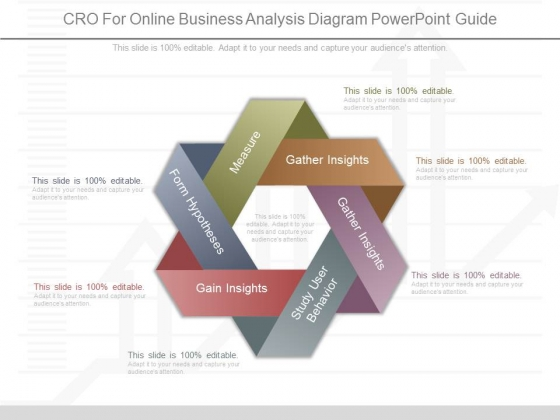 Cro For Online Business Analysis Diagram Powerpoint Guide
