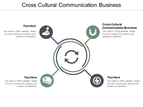 Cross Cultural Communication Business Ppt PowerPoint Presentation Visual Aids Example 2015 Cpb