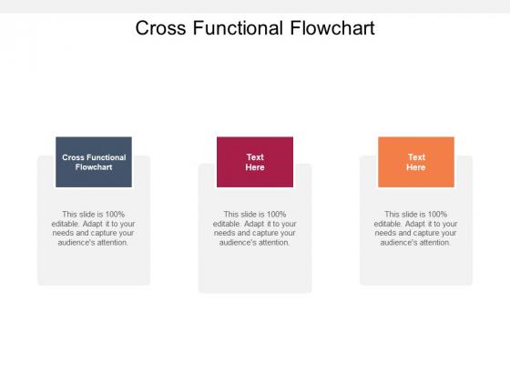 Cross Functional Flowchart Ppt PowerPoint Presentation Portfolio Graphics Download Cpb Pdf