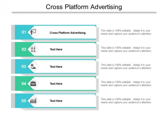 Cross Platform Advertising Ppt PowerPoint Presentation Ideas Graphics Cpb Pdf