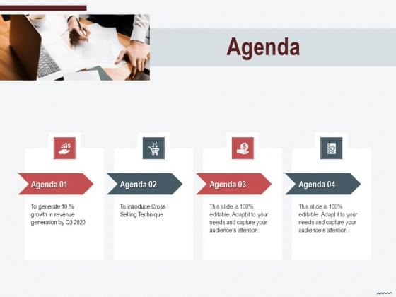 Cross_Sell_In_Banking_Industry_Agenda_Ppt_Show_Sample_PDF_Slide_1