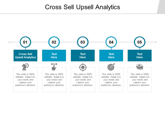 Cross Sell Upsell Analytics Ppt PowerPoint Presentation Outline Influencers Cpb