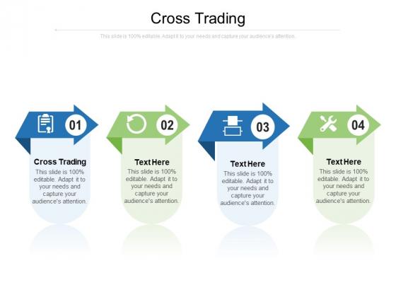 Cross Trading Ppt PowerPoint Presentation Ideas Skills Cpb