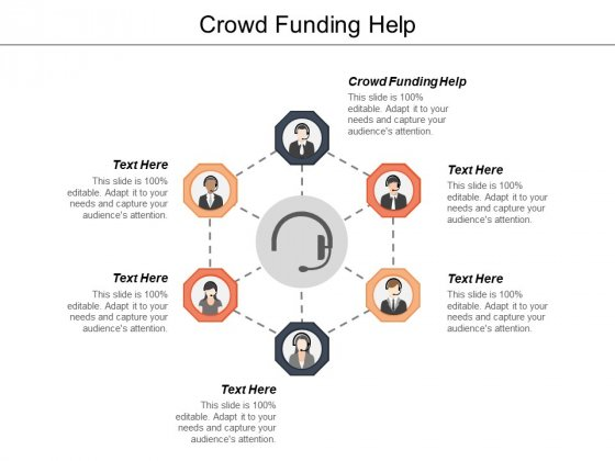 Crowd Funding Help Ppt PowerPoint Presentation Outline Sample Cpb