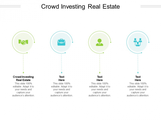 Crowd Investing Real Estate Ppt PowerPoint Presentation Outline Samples Cpb Pdf