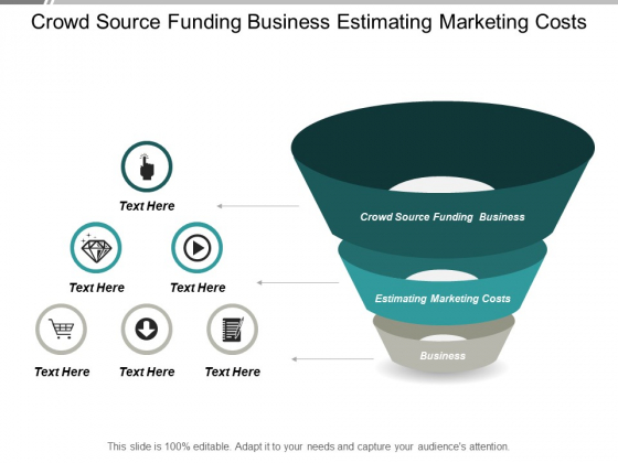 Crowd Source Funding Business Estimating Marketing Costs Business Ppt PowerPoint Presentation Graphics Cpb