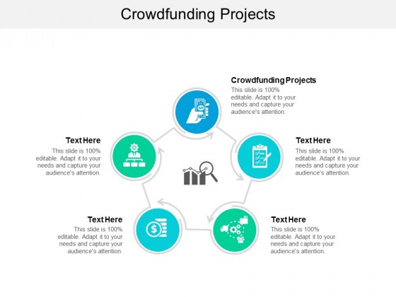 Crowdfunding Projects Ppt PowerPoint Presentation Styles Visual Aids Cpb