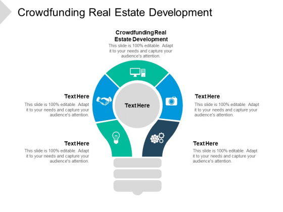 Crowdfunding Real Estate Development Ppt PowerPoint Presentation Slides Designs Cpb Pdf