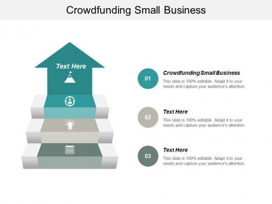 Crowdfunding Small Business Ppt PowerPoint Presentation Slides Icons Cpb