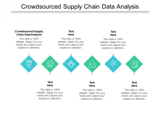 Crowdsourced Supply Chain Data Analysis Ppt PowerPoint Presentation Layouts Rules Cpb Pdf