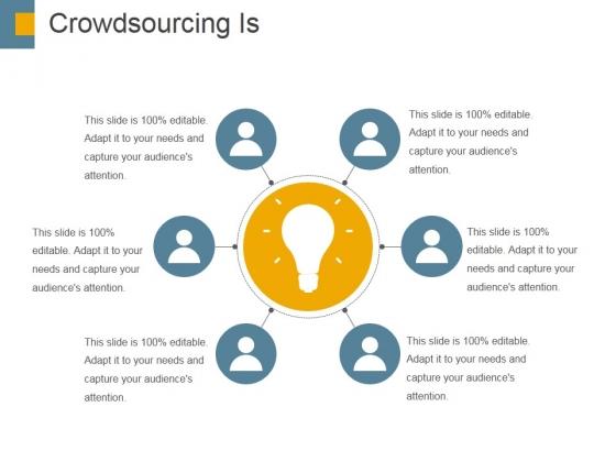 Crowdsourcing Is Ppt PowerPoint Presentation Inspiration Portrait