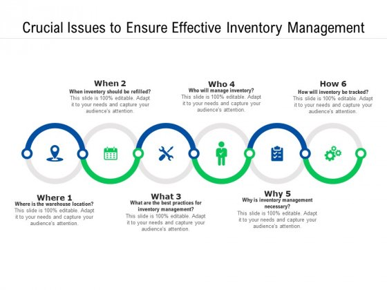 Crucial Issues To Ensure Effective Inventory Management Ppt PowerPoint Presentation Gallery Guidelines PDF