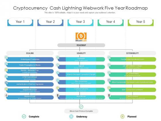 Cryptocurrency_Cash_Lightning_Webwork_Five_Year_Roadmap_Demonstration_Slide_1