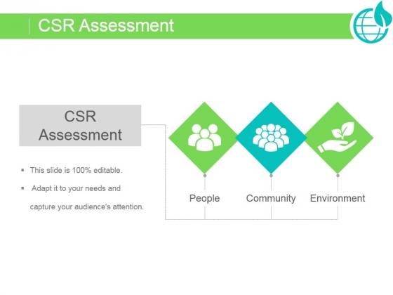 assess the corporate social responsibility of