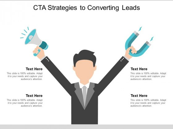 Cta Strategies To Converting Leads Ppt Powerpoint Presentation Icon Deck