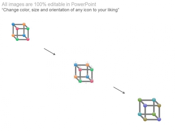 Cubic_Atomic_Structure_Diagram_Powerpoint_Template_2